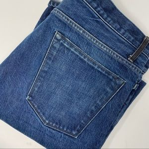 Helmut Lang Button Fly Medium Wash Straight Jeans